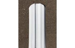 Штакетник металлический М-образный-0.5, 10х111, Края завальцованные, Norman