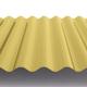 Профнастил МП18 волна для фасада и стен