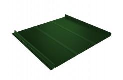 Кликфальц Line 0,45 PE с пленкой на замках RAL 6002 лиственно-зеленый