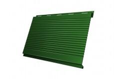 Вертикаль 0,2 gofr 0,45 PE с пленкой RAL6002 лиственно-зеленый