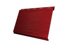 Вертикаль 0,2 gofr 0,45 PE с пленкой RAL3011 коричнево-красный