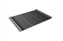 Кликфальц Line 0,5 Satin с пленкой на замках RAL 7016 антрацитово-серый