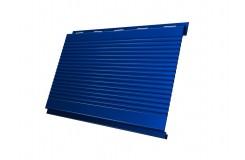 Вертикаль 0,2 gofr 0,45 PE с пленкой RAL5005 сигнальный синий