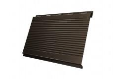 Вертикаль 0,2 gofr 0,45 PE с пленкой RR32 темно-коричневый