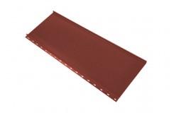 Кликфальц mini 0,5 Satin с пленкой на замках RAL 3009 оксидно-красный