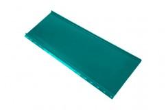 Кликфальц mini 0,45 PE с пленкой на замках RAL 5021 водная синь