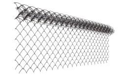 Сетка рабица стальная 1,5x10 м, ячейка 50x50x1,6